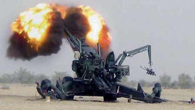 Dhanush Towed Howitzer