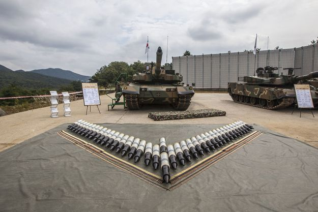 Hyundai Rotem K2 Main Battle Tank
