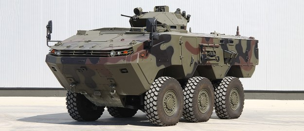 Otokar Arma  6X6 Wheeled Armoured Vehicle