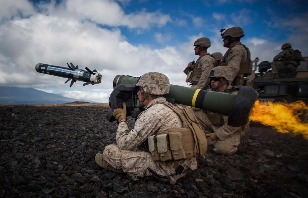 Javelin Guided Missiles