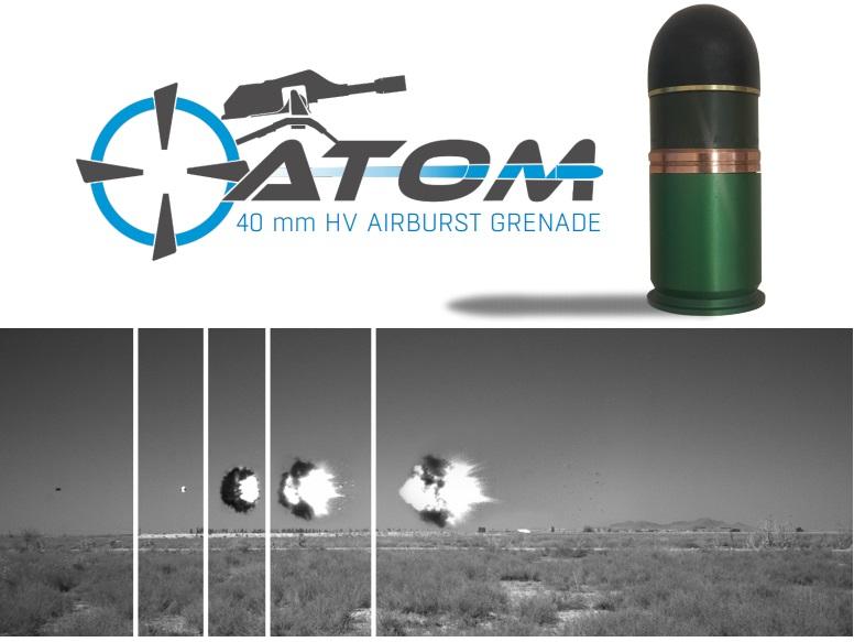 Aselsan develops Atom 40 mm high-velocity air bursting munition (HV ABM)