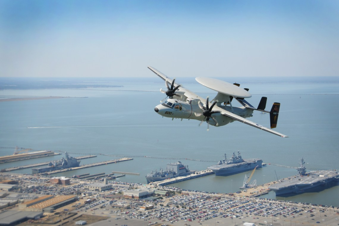 Japan Air Self-Defence Force Northrop Grumman E-2D Advanced Hawkeye Aircraft