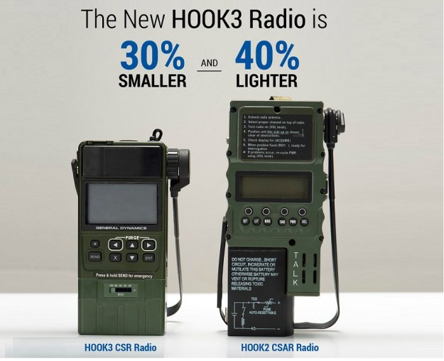Hook3 Combat Survival Radio (CSR)
