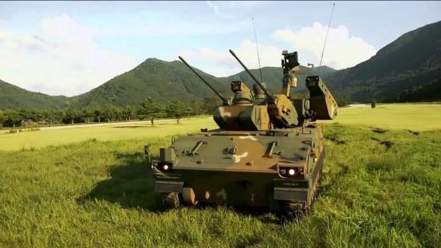South Korea K30 Biho (Flying Tiger) Self-Propelled Anti-Aircraft Gun