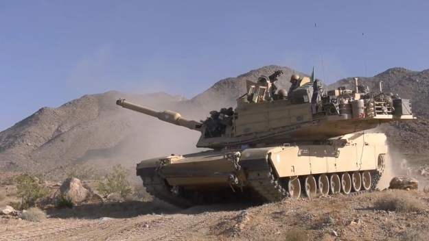 M1 Abrams and M2A3 Bradley Combined Arms live fire exercise