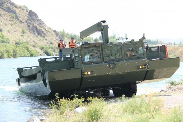 FNSS OTTER Armoured Amphibious Assault Bridge (AAAB)