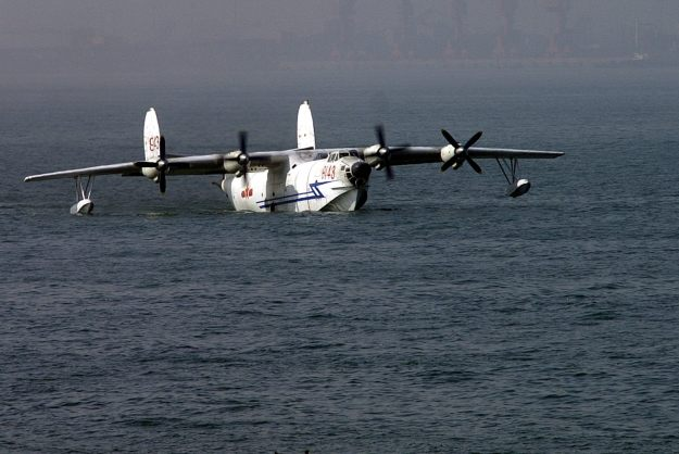 PLA Naval Aviation Harbin SH-5 Amphibious Aircraft