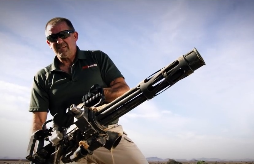 Profense PF M134 Minigun Weapon Systems