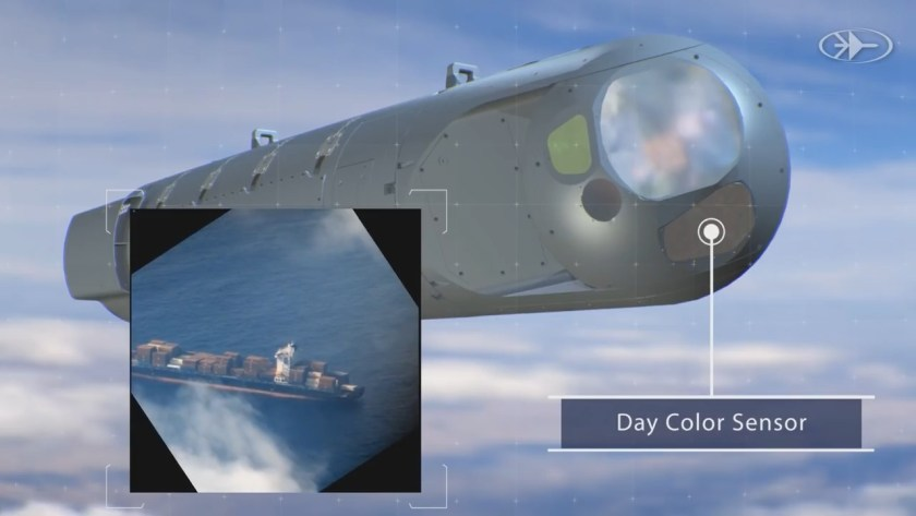 Synthetic Aperture Radar (SAR) for Rafael Litening and Reccelite EO Pods
