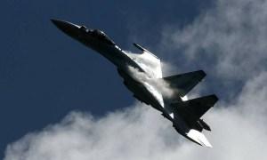 Sukhoi Su-35 Flanker-E Fighter Jet