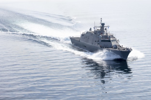 Littoral Combat Ship 17 (Indianapolis) Completes Acceptance Trials