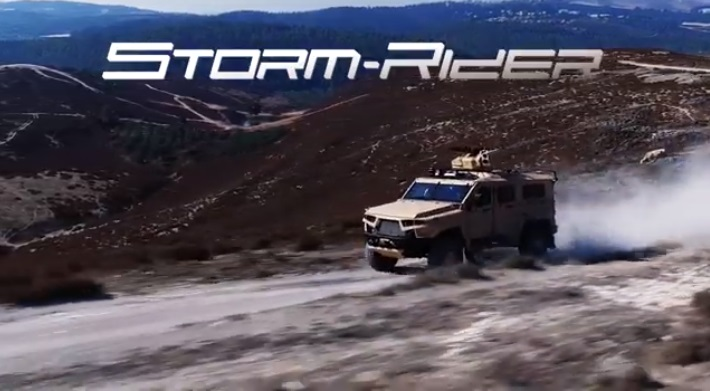 Plasan StormRider Light Armored Vehicles