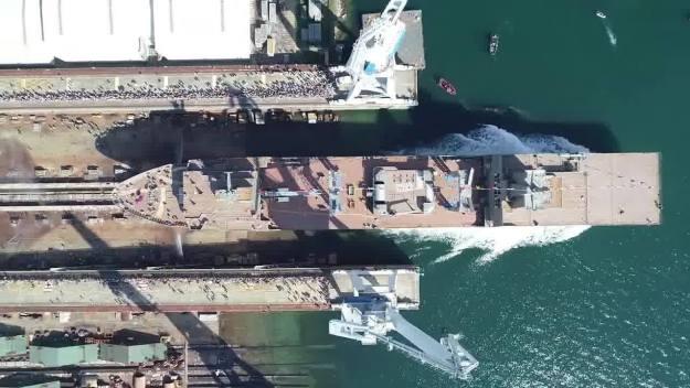 Navantia Launched HMAS Stalwart (A304)