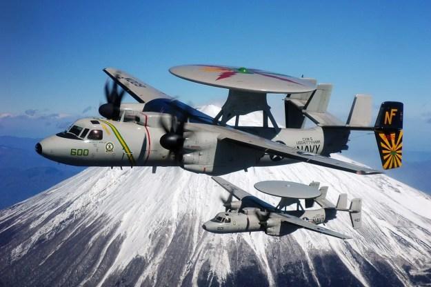 Northrop Grumman E-2C Hawkeyes