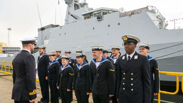 HMS SPEY named at official ceremony