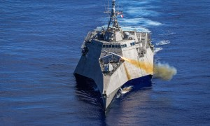 Independence-variant littoral combat ship USS Gabrielle Giffords (LCS 10)