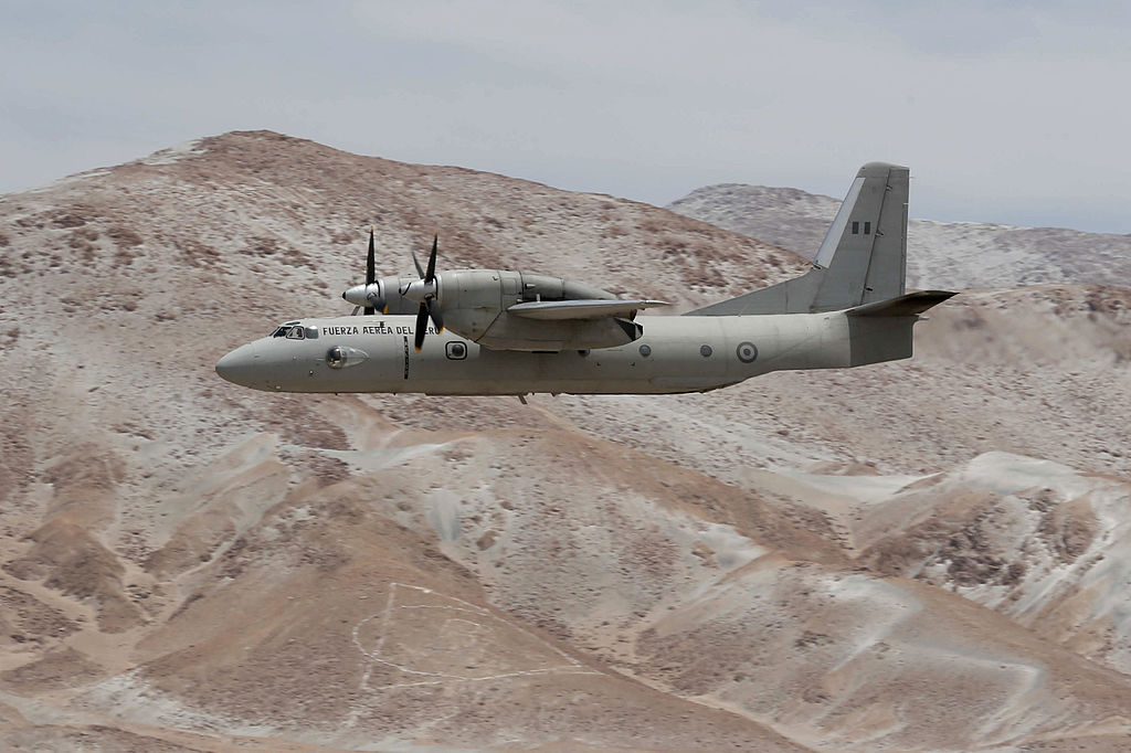 Peruvian Air Force Antonov An-32