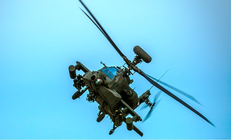 Boeing AH-64E Apaches Attack Helicopter