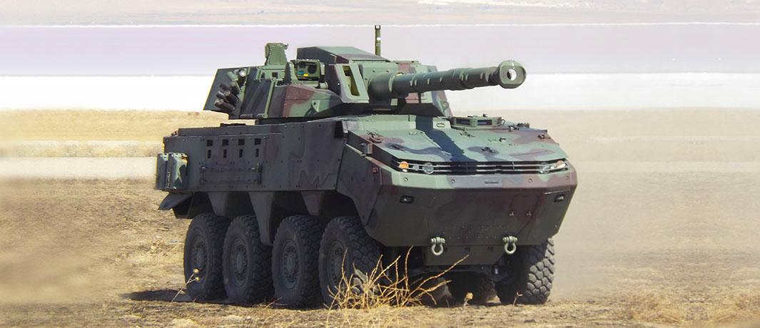 Arma 8X8 Wheeled Armoured