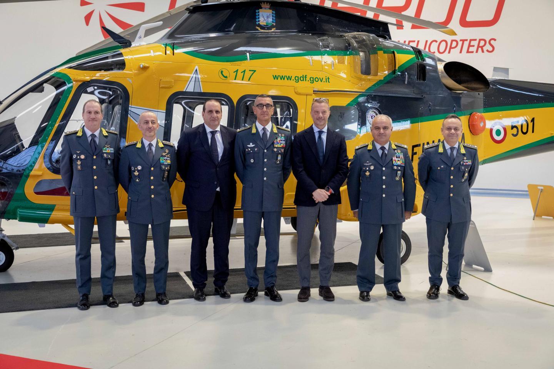 First Leonardo AW169M delivered to Italy's Guardia di Finanza