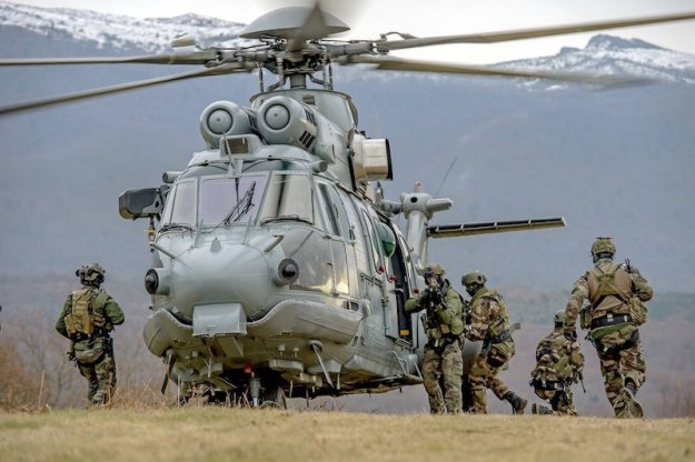 To improve the availability of its Super Puma family helicopters, including this H225M, the French defense ministry has decided to outsource their sustainment to Airbus Helicopters and Héli-Union, France's largest commercial operator.