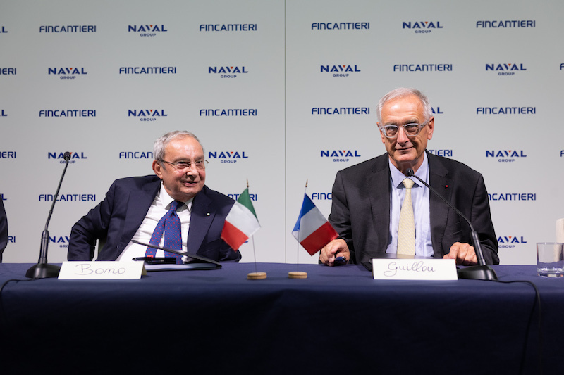 Naviris Is the Name of the Joint Venture Between Naval Group and Fincantieri