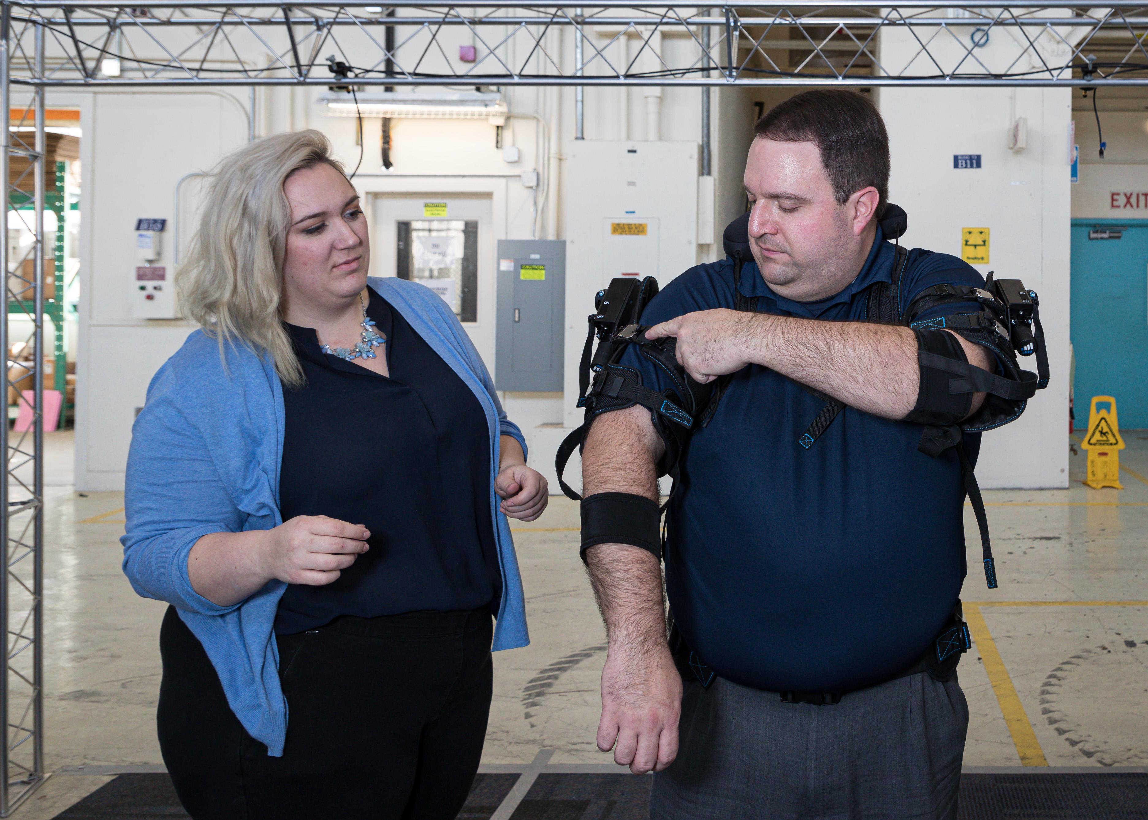 Naval Undersea Warfare Center (NUWC) Division, Keyport test exoskeleton
