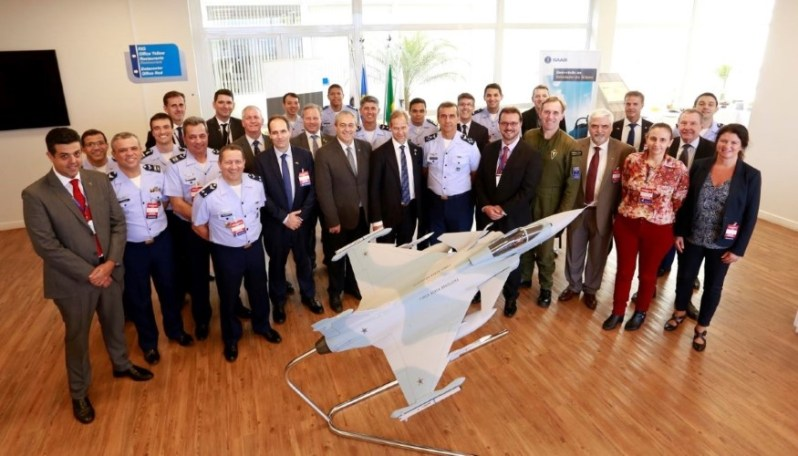 Saab Inaugurates Gripen Development Simulator in Brazil