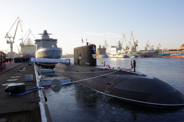 First Project 636.3 Submarine Enters Service with Russia's Pacific Fleet