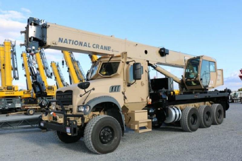 Mack Defense 40T All-Terrain Crane