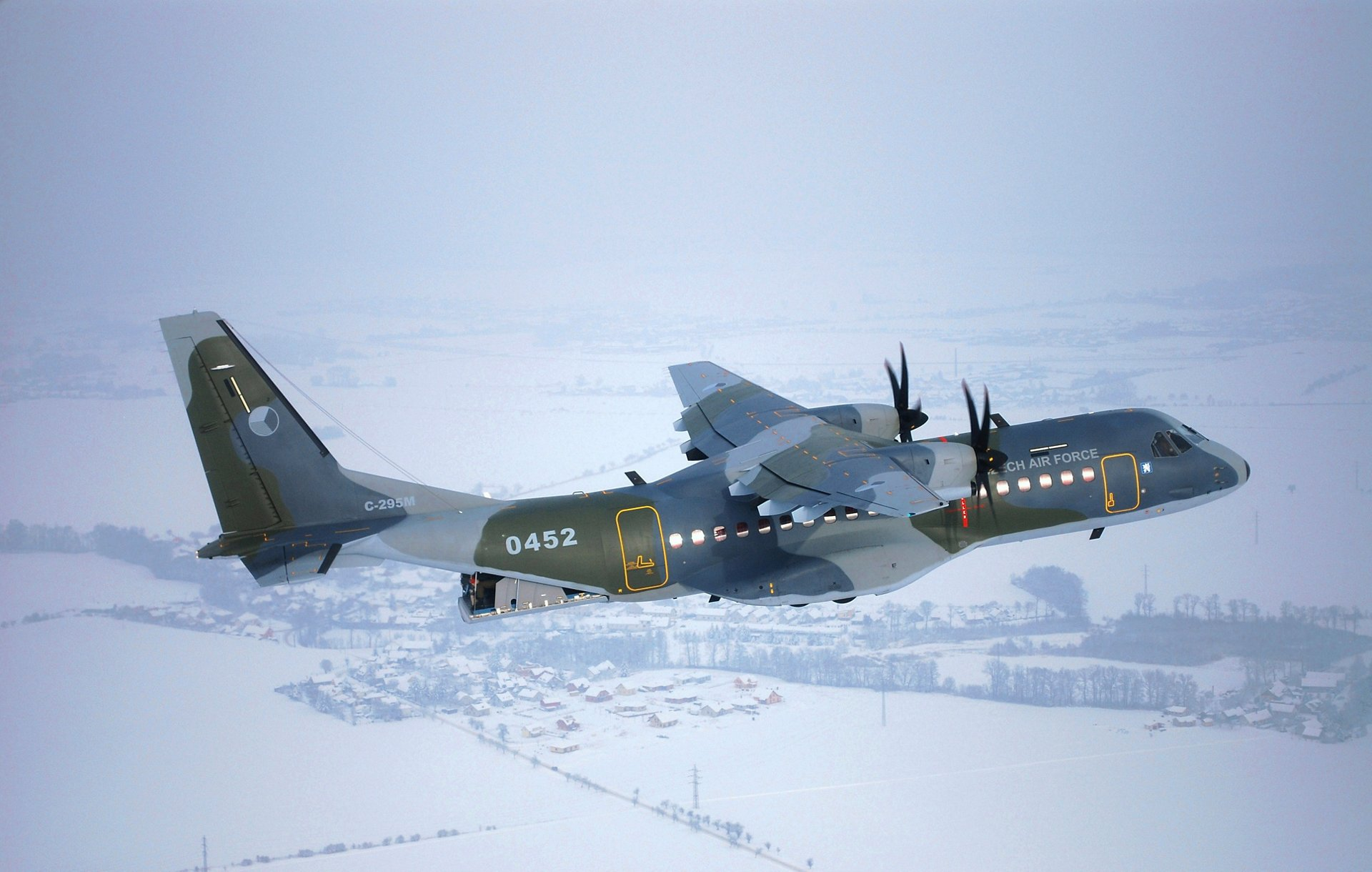 This order for two C295s by the Czech Republic brings Airbus Defence's total bag to five C295 orders over the past week, with two maritime patrol variants for the Irish Air Corps and one transport version for Burkina Faso, both announced Dec. 12. (Airbus photo)