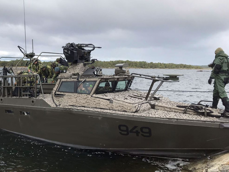 Dockstavarvet will construct 18 new combat boats for Amphibious Corps.