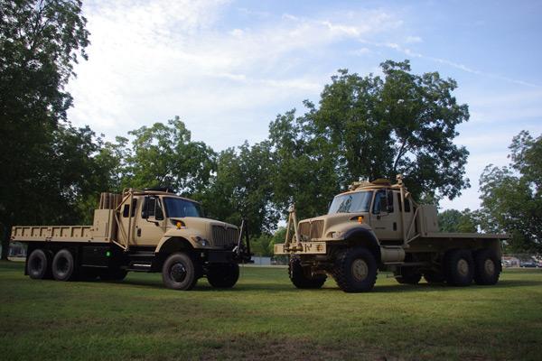 Navistar Defense International 7000-MV Transport Truck