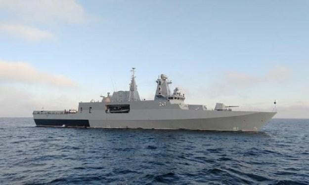 Polish Navy ORP Ślązak patrol corvette