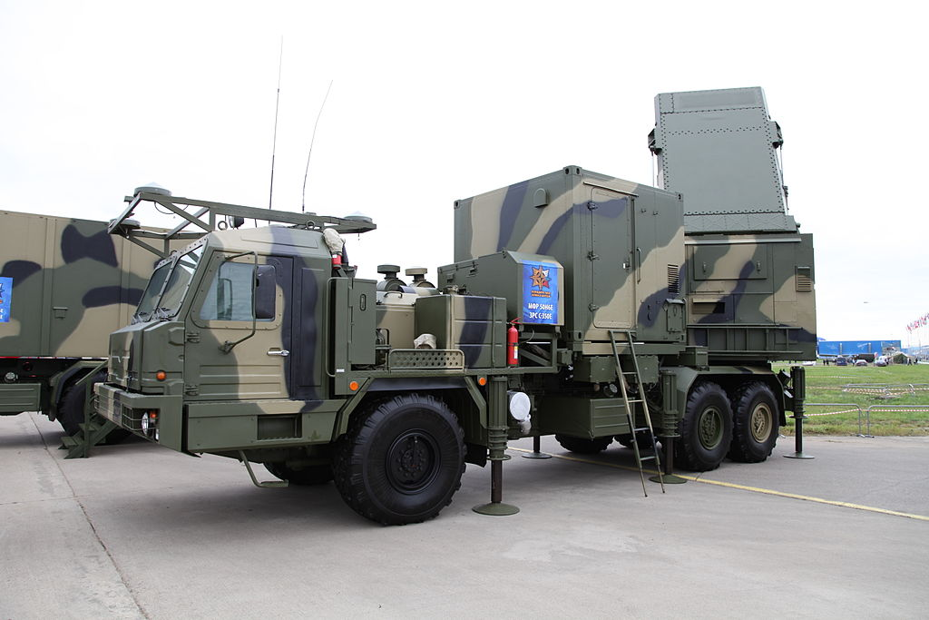 S-350E Vityaz air-defense system - 50N6E multifunctional radar