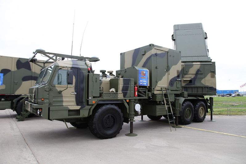 S-350E Vityaz air-defense system - 50N6E multifunctional radar