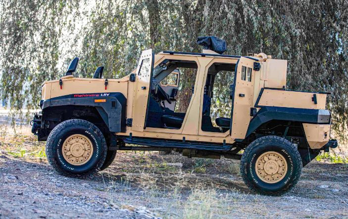 Mahindra Light Armored Specialist Vehicle (ALSV )