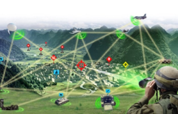 FIRE WEAVER™ is a revolutionary networked sensor-to-shooter system which enables unequalled speed, accuracy & safety for the tactical forces.  It complements the BMS by connecting all sensors and shooters in real time, presenting relevant Augmented Reality information on the weapon sight, and instantly selecting the most relevant shooter for each target ‒ enabling simultaneous, precision strikes.