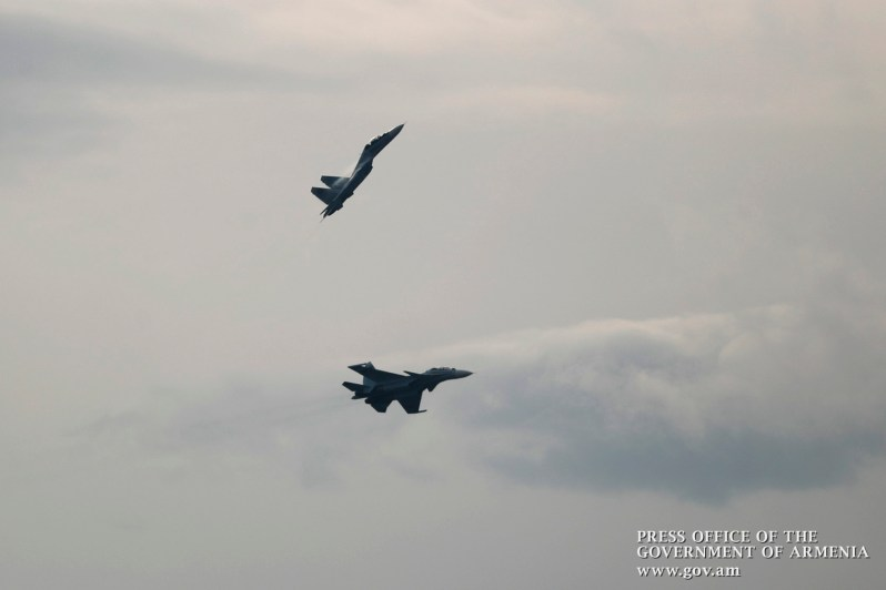 Sukhoi Su-30SM Multirole Fighters