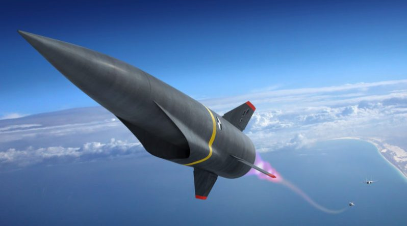U.S. Air Force's Hypersonic Conventional Strike Weapon (HCSW)