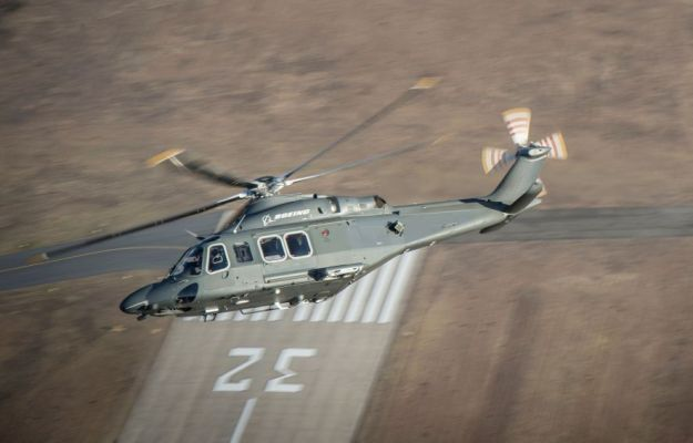 The USAF is to replace its ageing UH-1N helicopters with the MH-139A, pictured. (Boeing)