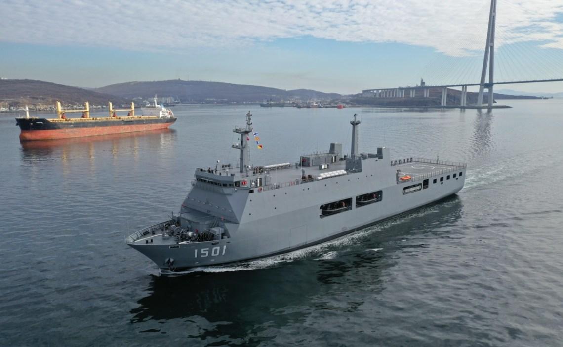 Myanmar Navy Commissions UMS Mottama Landing Platform Dock