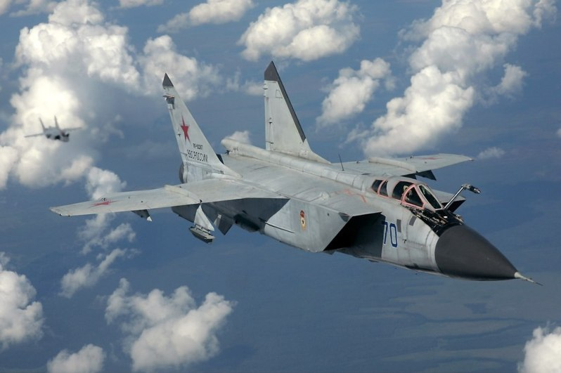 Russian Navy MiG-31K to be Armed with Kinzhal Hypersonic Missiles
