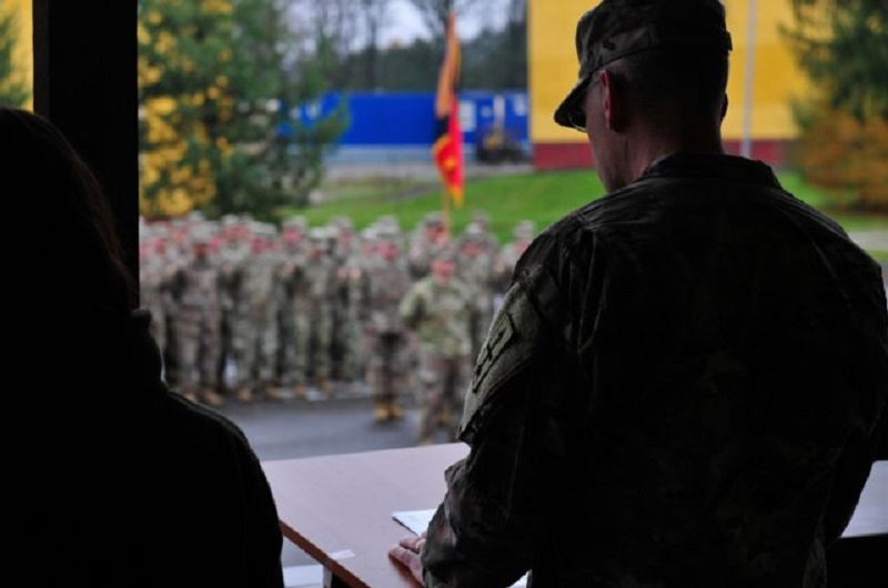 U.S. Army Soldiers Deploys to Ukraine for Multinational Mission