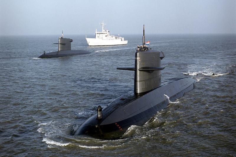 Royal Netherlands Navy (Koninklijke Marine) Walrus-class submarines