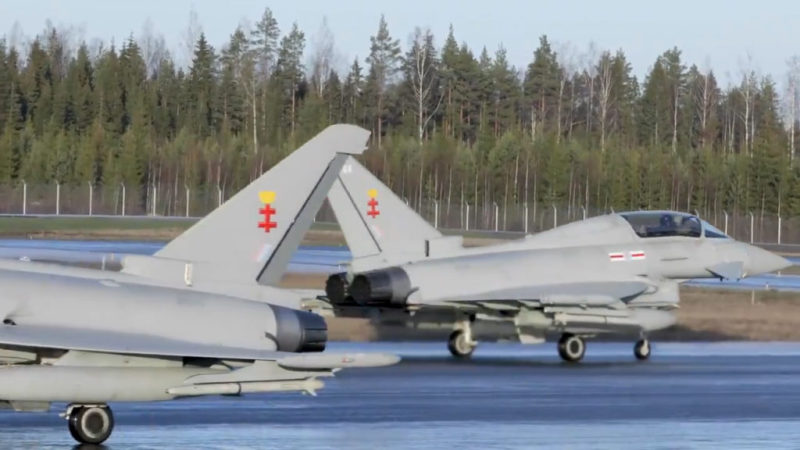 Finnish pilots will today begin kicking the tyres on the Eurofighter Typhoon jet in trials due to last until the end of February.