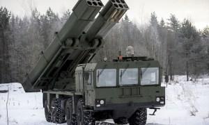 9A53-S Tornado-S multiple launch rocket systems (MLRS)