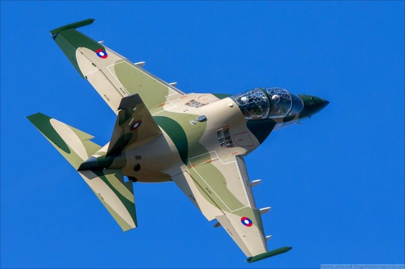 Lao People's Liberation Army Air Force Yakovlev Yak-130 jet trainer and light fighter