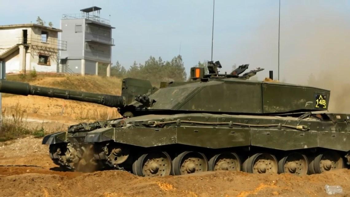British Challenger 2 Main Battle Tank