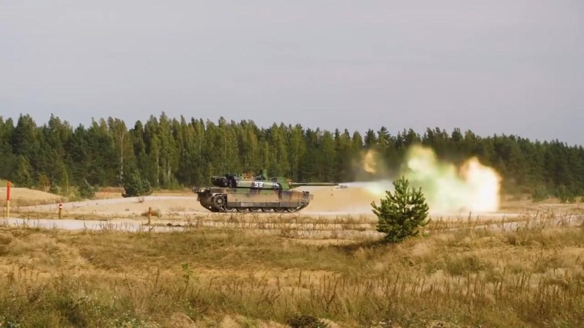 French Leclerc Main Battle Tank